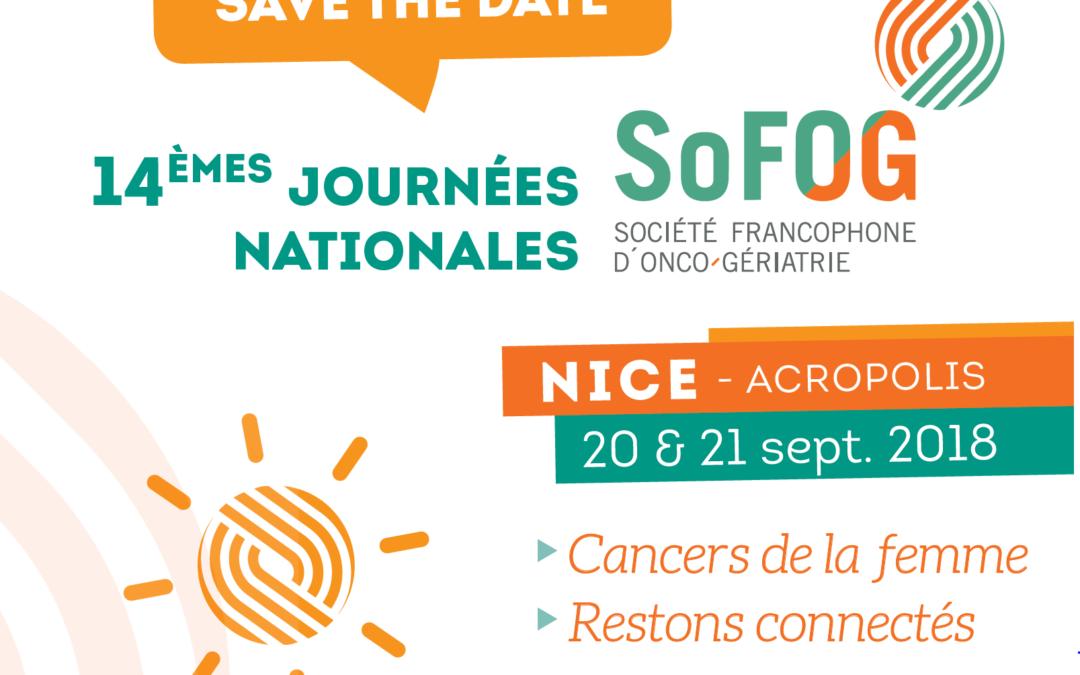 Congrès SoFOG – Nice – Septembre 2018