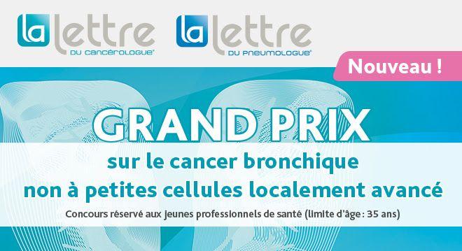 Grand Prix sur le cancer bronchique